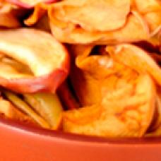 Десерт из сушеных яблок